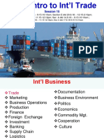 5. Intro to Int'l Trade & Theories