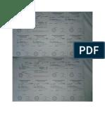 Certificat de Scolarité 2018-2019