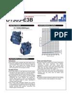 Kubota 05 Series d1305 e3b Specifications