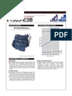 Kubota 05 Series v1505 e3b Specifications