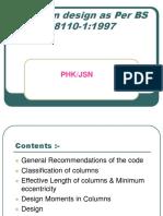 Column Design - As Per BS Code