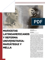 Marxistas Latinoamericano Mariategui