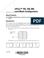 Optiplex-960 User's Guide Es-mx