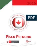 Perfil de Producto (Pisco) en Canada