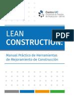 Manual Lean Construction Herramientas de Mejoramiento