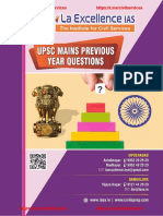 UPSC Topic Wise PYQs From La Excellence by GrabCSE