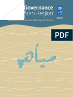 govrnance arab region   for the water