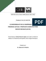 EL MICRORRELATO EN LA ENSEÑANZA DE ELE.pdf