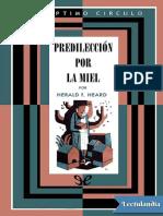 025 Predileccion Por La Miel - H F Heard