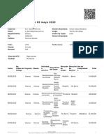 Expense Report -  02 Mayo 2019