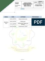 Agenda comisiones