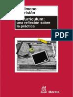 El Currículum Una Reflexión Sobre La Práctica Libro