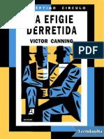 272 La Efigie Derretida - Victor Canning