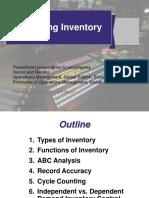 OM Inventory Management