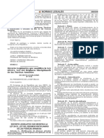 Decreto Legislativo 1145 modificando la Ley 29131