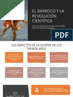 El Barroco y La Revolución Científica