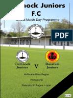 Cumnock vs Rossvale 030819