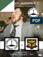 Cumnock vs Kilbirnie 100819