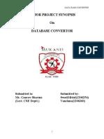 SYNOPSIS Database Converter