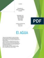 Diapositiva El Agua