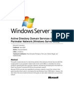Active Directory Domain Services in the Perimeter Network (Windows Server 2008).doc