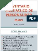 Inventario Multifasico de Personalidad de Minesota - Mini Mult
