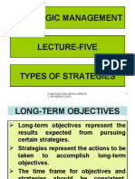 Stg Mgm Lec-05 Types of Strategies