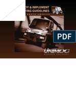 Unimog Body and Implement Mounting Guidelines