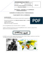 Taller Afrocolombianidad 2016 Bachillerato