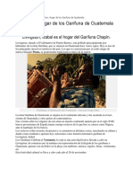 KARINA Investigacion Cultura Garifuna, Su Gastronomia e Imagenes