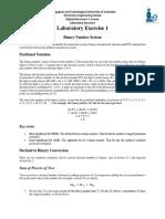 Laboratory Exercise 1