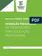 PPC Formação Pedagógica de Professores Para Educação Profissional_Versão 2018.MAR