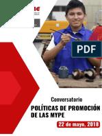 POLITICAS DE PROMOCION DE LASMYPE