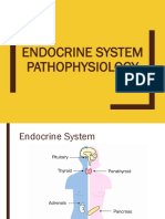 ENDOCRINE SYSTEM (PATHOPHYSIOLOGY)