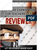 Let Reviewer Handouts
