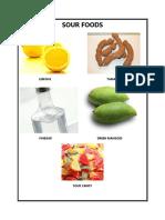 Sour Foods
