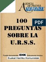 100 Preguntas Sobre La URSS