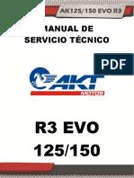 Introduccion Manual de Servicio Tecnico de La Motocicleta Ak 125 150 r3 Evo