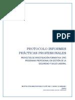 Protocolo Prácticas Profesionales en Vinculación Laboral
