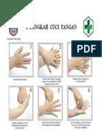 6 Langkah Cara Cuci Tangan