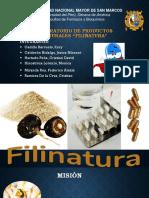 Avance de Proyecto Filinatura