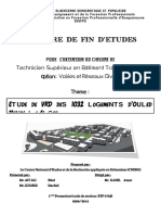 Etude VRD Des 1032 Logements