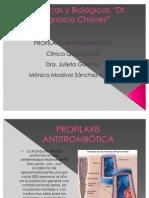 Profilaxis antitrombótica