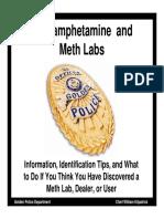 Methamphetamine Lab