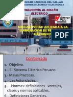 1.- Normatividad Aplicada a La Elaboración de Proyectos Electricos