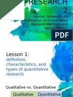 Research 2 - Lesson 1