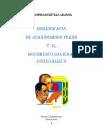 Bibliografia Sobre Peron y Del Movimiento Justicialista