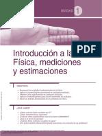 Física Teoría Ejemplos y Problemas ---- (Unidad 1 Introducción a La Física Mediciones y Estimaciones)