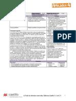 Planificaciones de Materias Editable Cuarto Año de Primaria Version Super Aplicados Editorial Castillo