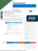 Manage Internet Explorer address bar auto-complete drop-down lists.pdf